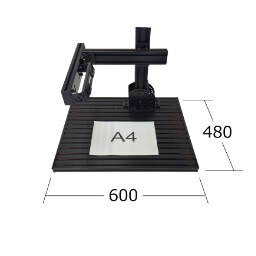 カメラ固定 角度可変 自在ベース盤 実機強度のオールインワン検査台 検査台の 画像処理環境ドットコム