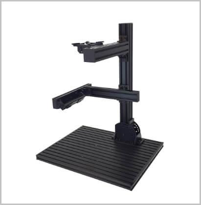 工業用カメラ固定を標準化したベースプレート(作業台・実験台)の画像処理環境.comオリジナル商品。6048