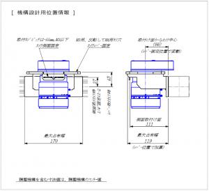 M72マウント、Fマウント、Cマウント固定、冶具、機械設計者用位置情報図面