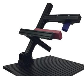 外観検査でのカメラ取付、固定、角度設計参考 主柱傾斜ベース