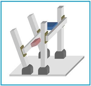 カスタム設計、製作。鏡面体、高剛性、試験環境に最適
